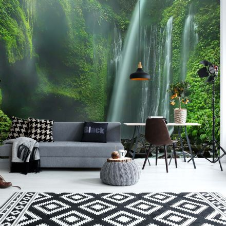 "Easy to Install wallpaper ""Under The Waterfall"""